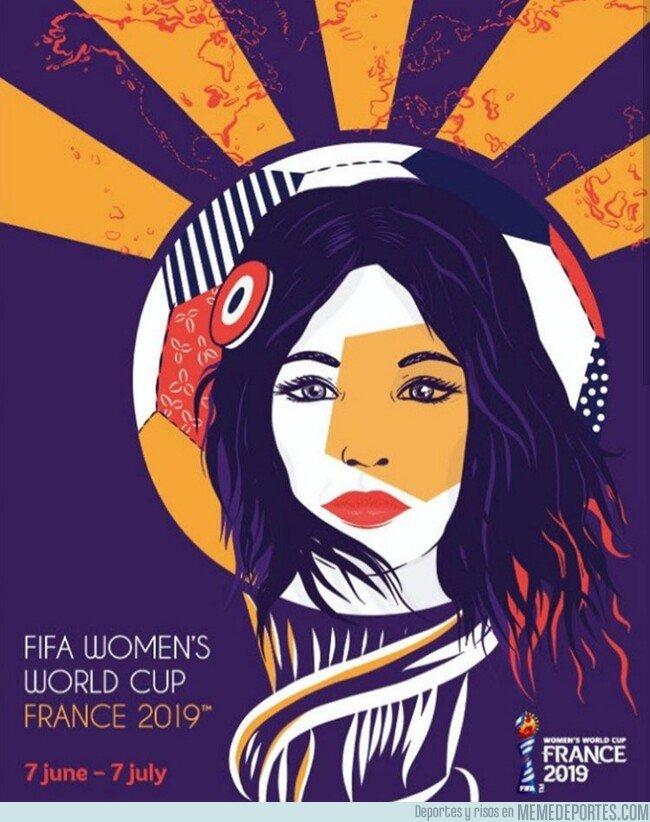 1067495 - Este es el cartel oficial del Mundial femenino que se celebra este año
