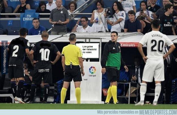 1067560 - Los goles del Valladolid no valen