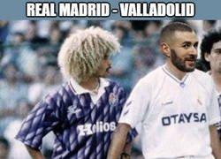 Enlace a Benzema el héroe del partido una vez más