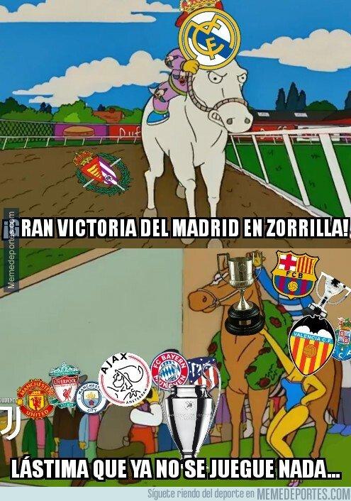 1067601 - El buen resultado del Madrid llegó tarde