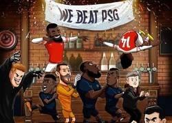 Enlace a El Arsenal aguó la fiesta en la que seguía el United, por @brfootball