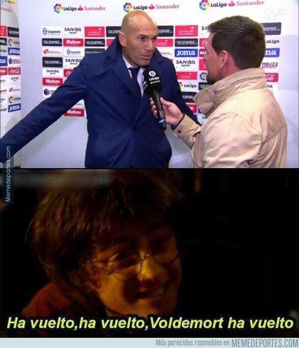 1067645 - Lo mejor del regreso de Zidane es que podremos usar este meme hasta el cansancio otra vez