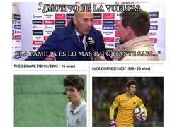 Enlace a Los verdaderos motivos de la vuelta de Zidane