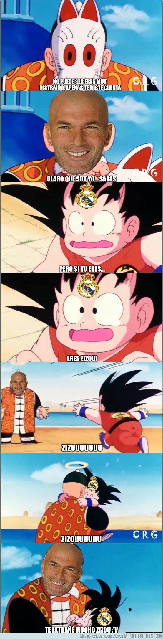 1067762 - Todo el madridismo con la vuelta de Zidane