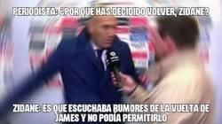 Enlace a Zidane no lo podía permitir