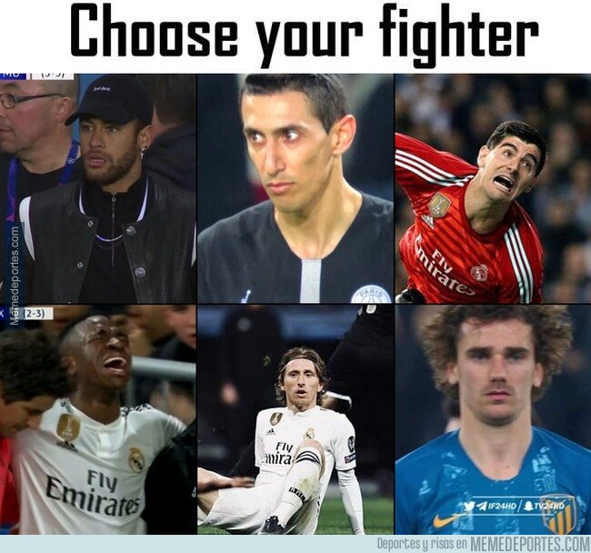 1067977 - Choose your fighter...