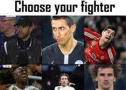 Enlace a Choose your fighter...