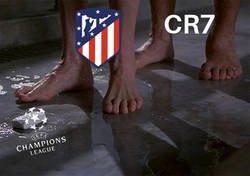 Enlace a Cristiano vuelve a ser el verdugo del Atleti en Champions