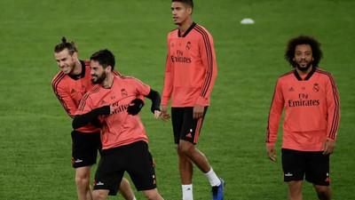 1068279 - Los dos jugadores del Real Madrid que fueron a entrenar en el día libre