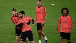 Enlace a Los dos jugadores del Real Madrid que fueron a entrenar en el día libre