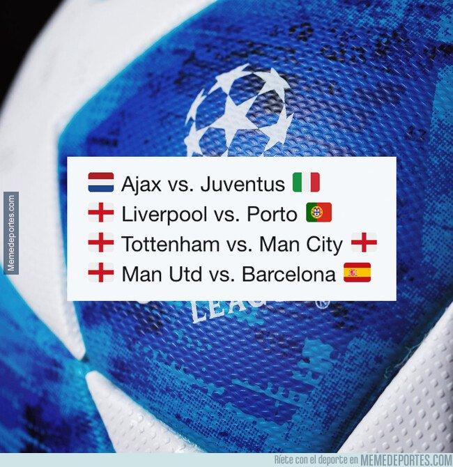 1068386 - ¡Así quedan los cuartos de final de la Champions League!