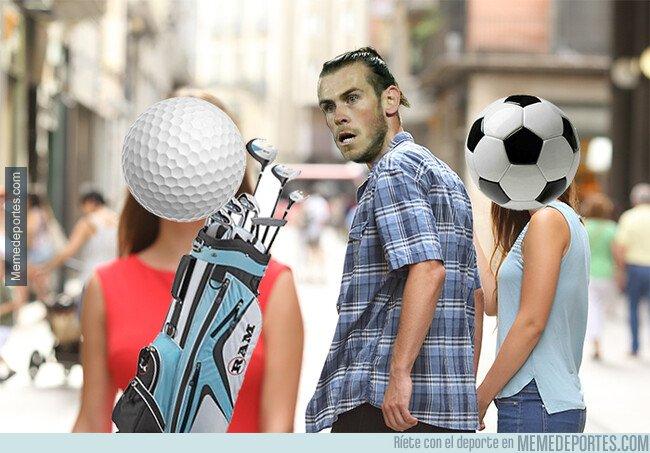 1068435 - Bale prefiere el golf al fútbol