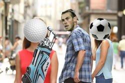 Enlace a Bale prefiere el golf al fútbol