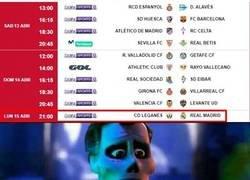 Enlace a El Madrid jugando un lunes