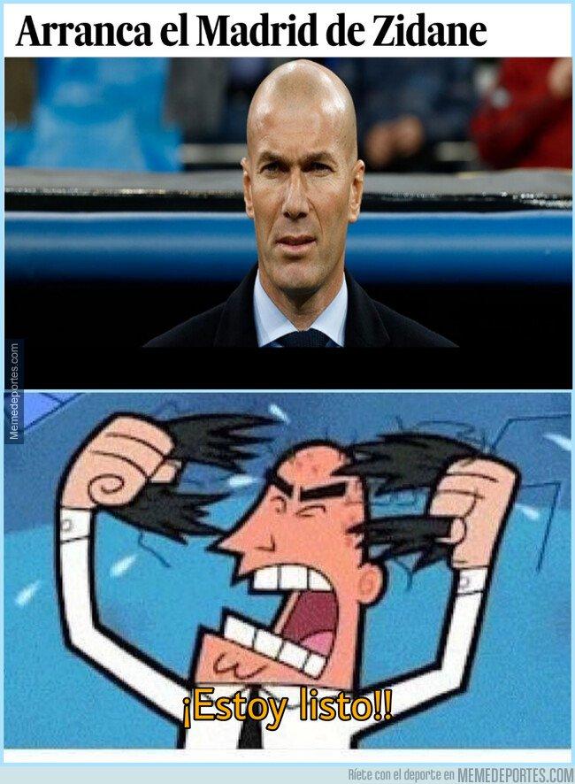 1068489 - Todo a punto para el primer partido de Zidane