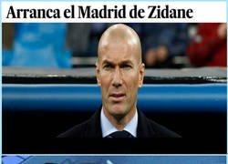 Enlace a Todo a punto para el primer partido de Zidane