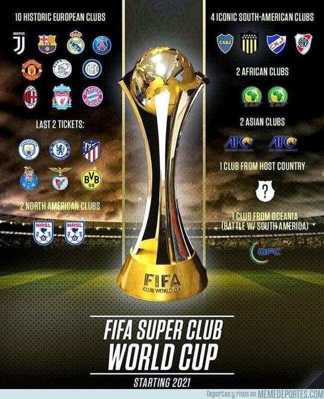 1068550 - Así se jugaría el mundial de clubes