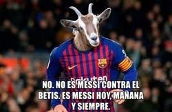 Enlace a Messi hoy, mañana y siempre