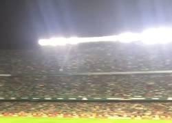Enlace a El Villamarín, de pie ante Messi
