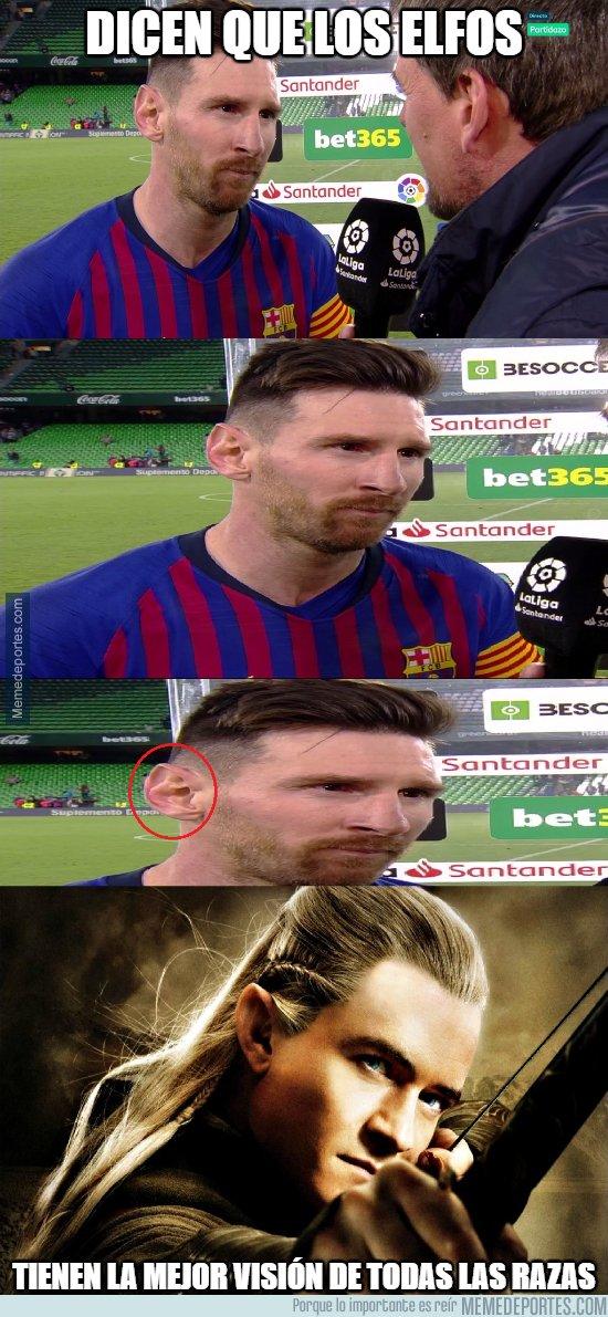 1068664 - La razón de la precisión de Messi