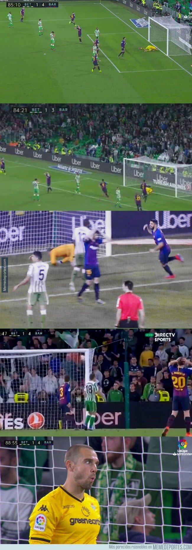 1068735 - Lo que todavía no has visto del golazo de Messi: ¿cuántos jugadores se echaron las manos a la cabeza?