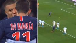 Enlace a Mbappé se niega a cederle el penalti a Di María cuando hubiera hecho hat-trick y lo falla