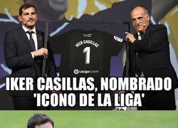 Enlace a Casillas, nuevo 'icono' de La Liga