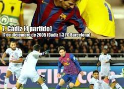 Enlace a Los 10 equipos a los que Messi no ha podido marcar en su vida
