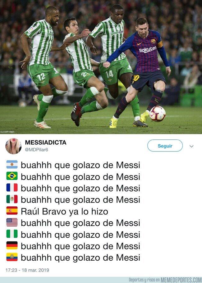 1068857 - El golazo de Messi, por @MDPilar6