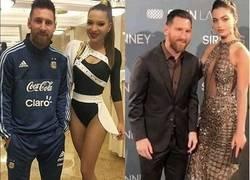 Enlace a Messi sabe dónde poner sus manos