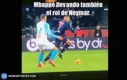 Enlace a Mbappé hace olvidar a Neymar a los parisinos
