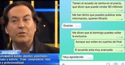 Enlace a Un twittero le cuela un bulo a Pipi Estrada por Whatsapp y va y lo suelta en el Chiringuito