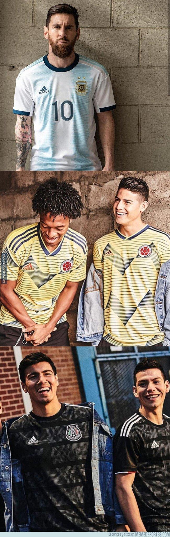 1068900 - Ya se han presentado algunas camisetas que veremos en la Copa América 2019