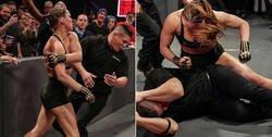 Enlace a La secuencia completa por la que podrían despedir a Ronda Rousey de la WWE