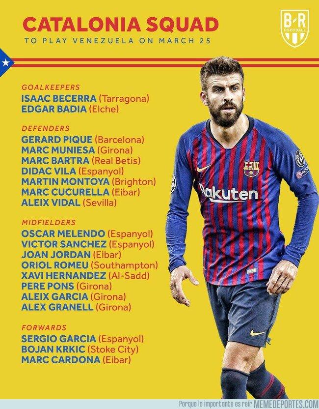1068947 - Piqué y Xavi vuelven a la selección catalana