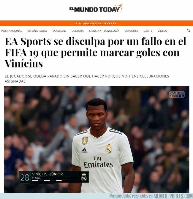 1068981 - Vinicius en el FIFA, vía el Mundo Today
