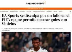 Enlace a Vinicius en el FIFA, vía el Mundo Today
