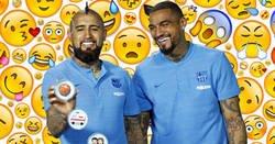 Enlace a Vidal y Boateng definen a sus compañeros del FC Barcelona con emojis