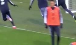 Enlace a La selección francesa celebra un gol en un entreno como si fuera la final del Mundial