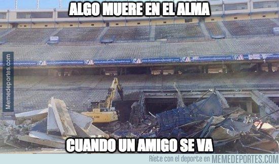 1069068 - Ya queda poco de lo que era el Vicente Calderón :(