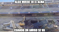 Enlace a Ya queda poco de lo que era el Vicente Calderón :(