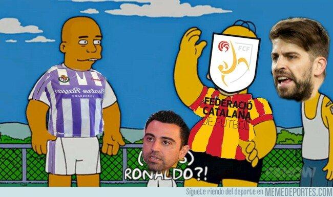 1069077 - El Valladolid no cede sus jugadores para jugar con Cataluña. Vía @m.matt00