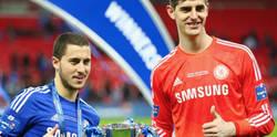 Enlace a Hazard trolea a Courtois por su error ante Rusia