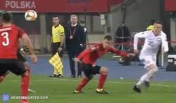 Enlace a Hermoso despliegue técnico de Lewandowski