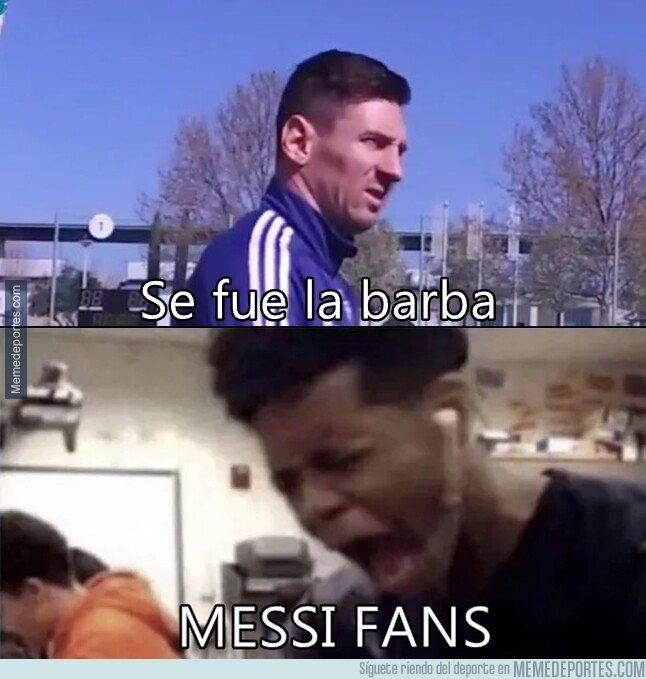 1069103 - Messi se ha quitado la barba en el momento cumbre de la temporada