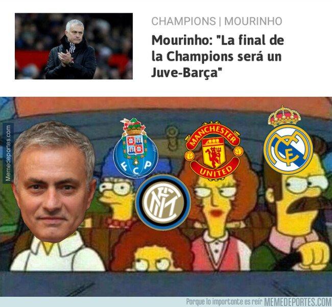 1069323 - Algunos ex de Mourinho no estarán de acuerdo con su pronóstico