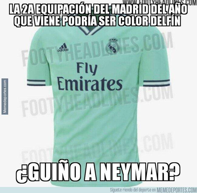 1069335 - Posible guiño a Neymar en la próxima equipación del Madrid