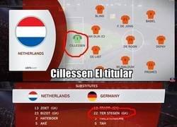 Enlace a En el Holanda Alemania pasó algo curioso