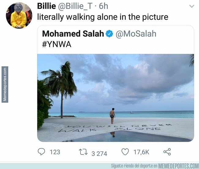1069377 - Literalmente, caminando solo