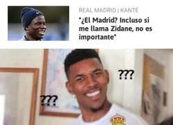 Enlace a Kanté no se dejaría impresionar por Zidane